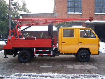 China G-1 Prospecting Mineral Portable Drilling Rigs Hydraulic , Rotary Drilling Rig distributor