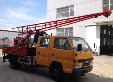 China CG-150 Hydraulic Truck Mounted Drilling Rigs With core and water well distributor