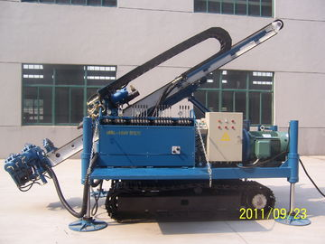 China MDL-135D Great Torque Portable Drilling Rigs , Crawler Drilling Machines distributor