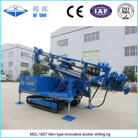 China Innovation Anchor Drilling Rig MDL - 185T Doubling Overall Working Efficiency distributor