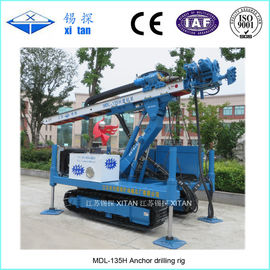China High Lifting Anchor Drilling Rig MDL - 135H factory