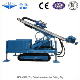 China TOP DRIVE  IMPACT DRILLING RIG MDL - C180 factory
