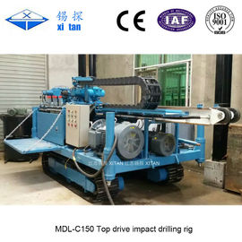 China Top Drive Impact Anchor Drilling Rig MDL - C150 factory