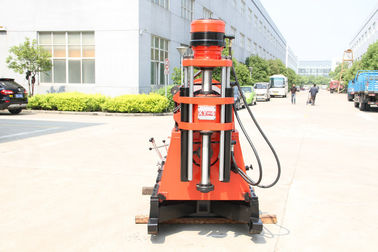 China XY-4T Core Sample Drilling Tower Lifting Drilling Rods , Pyramid Drilling distributor
