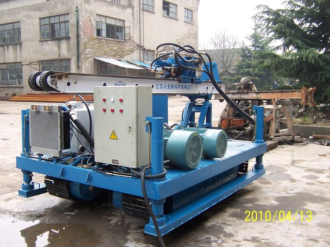 XPL-20A Jet - Grouting With Crawler Mounted Drilling Rig( Singe pipe ...
